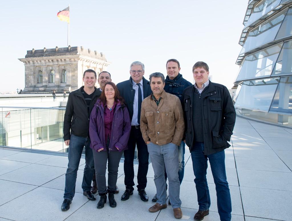 Matthias Wette, Selim Aydin, Sandra Wette, Hubert Hüppe MdB, Abdolmohammed Bagherzadeh-Ansari (Moh), Jörg Schindel, Jochen Schumacher